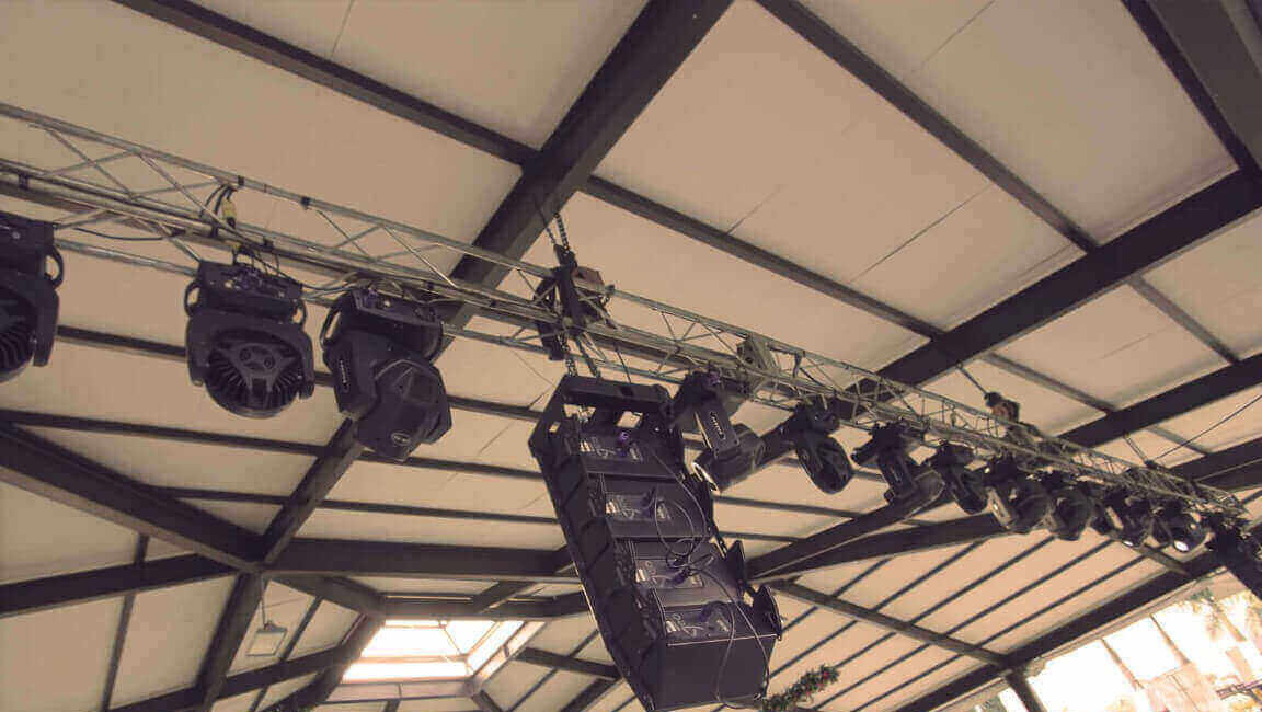 Our audio equipment is rigorously selected to satisfy and guarantee the best quality in our events